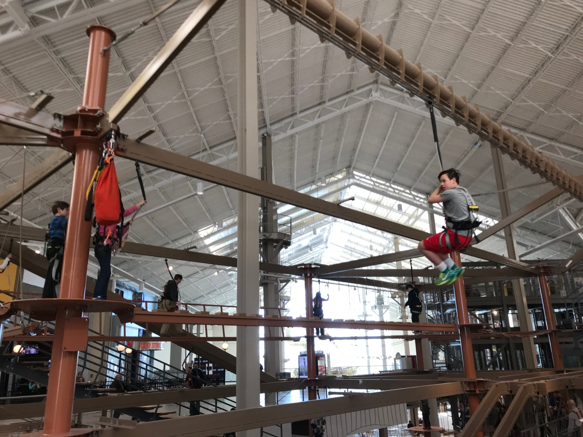 Ropes Course and Bowling atPalisades